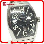 FRANCK MULLER フランクミュラー 9880 C DT トノーカーベックス カサブランカ デイト 腕時計 SS メンズ【中古】