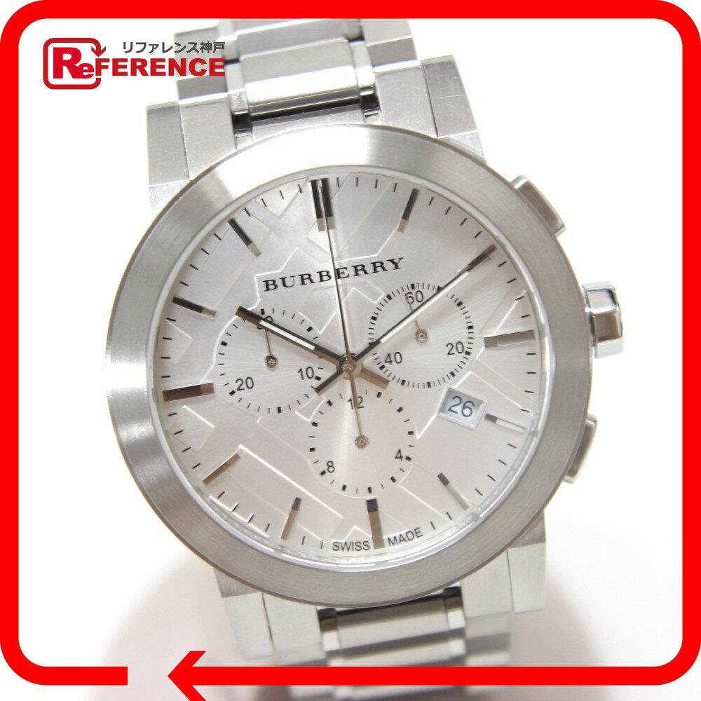 BURBERRY バーバリー  BU9350 クロノグラフ シティ 腕時計 SS メンズ【】 BURBERRY バーバリー 腕時計 対応/_包装【カシオ アンティーク 腕時計】