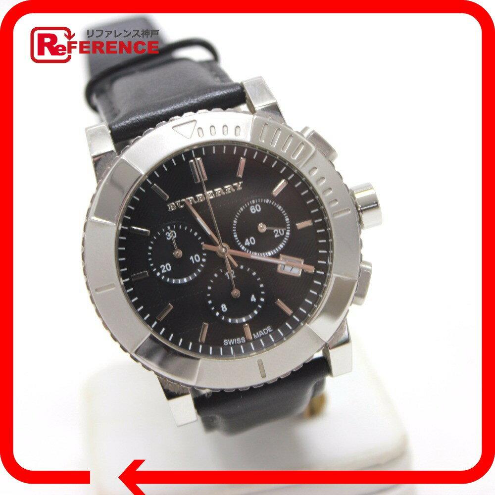 BURBERRY バーバリー  BU2306 クロノグラフ 腕時計 SS/革ベルト メンズ【】 BURBERRY バーバリー 腕時計 対応/_包装