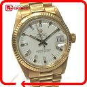 ROLEX ロレックス 6827 金無垢 デイトジャスト 腕時計 K18YG イエローゴールド ボーイズ【中古】