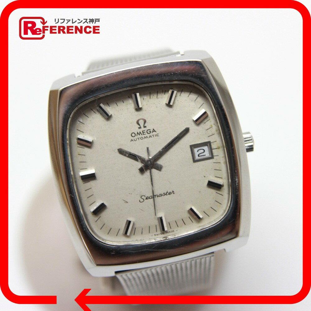 OMEGA オメガ  自動巻き シーマスター スクエア デイト 腕時計 SS シルバー メンズ【】 OMEGA オメガ 腕時計 対応/_包装