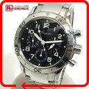 Breguet ブレゲ 3800ST/92/SW9 クロノグラフ メンズ腕時計 アエロナバル TYPE XX 腕時計 SS シルバー メンズ【中古】