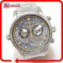 BURBERRY バーバリー BU7503 クロノグラフ ビッグデイト Endurance Collection 腕時計 SS/ シルバー メンズ【中古】