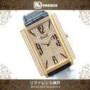 PIAGET ピアジェ メンズ腕時計 ダイヤベゼル 裏スケ ライムライト 腕時計 K18PG/クロコ革ベルト メンズ【中古】