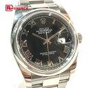ショッピングロレックス ROLEX ロレックス 116200 メンズ腕時計 デイトジャスト オイスターパーペチュアル 腕時計 SS シルバー メンズ【中古】