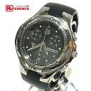 TAG HEUER タグホイヤー CL1181 メンズ腕時計 キリウム クロノグラフ 腕時計 チタン/ラバーベルト シルバー×ブラック メンズ【中古】