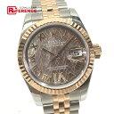 ショッピングロレックス ROLEX ロレックス 179171 デイトジャスト ロータスフラワー VIダイヤ 腕時計 SS/ピンクゴールド レディース 新品同様【中古】