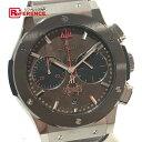 HUBLOT ウブロ 521.NC.0589.VR.OPX14 メンズ腕時計 クラシック フュージョン フォービデンX 腕時計 チタニウム/革ベルト/セラミックベゼル シルバー メンズ 新品同様【中古】