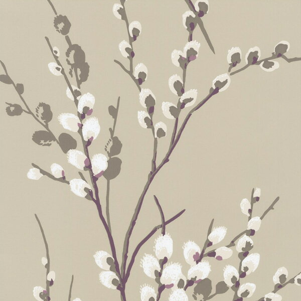RoomClip商品情報 - 輸入壁紙/イギリス製/WallPaper Collection:LAURA ASHLEY(ローラアシュレイ)メーカー品番:LA17017/プッシーウィロー/1ロール(巾53cmX10m)単位販売/紙壁紙/準不燃/領収書対応可