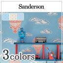 輸入壁紙/イギリス製/Sanderson(サンダーソン):Sanderson(サンダーソン)メーカー品番:214028,214029,214030/Balloons/1ロール(巾52cm×10.05m)単位販売/紙/F☆☆☆☆/不燃