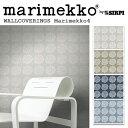 RoomClip商品情報 - 輸入壁紙/フィンランド(生産はイタリア)製/Marimekko4(マリメッコ4):marimekko(マリメッコ)メーカー品番:17910,17911,17912,17913/PUKETTI(プケッティ)/1ロール(巾53cmX10.05m)単位販売/不織布PVCコーティング