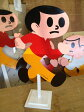 湖東発/ミニとび太くん「飛出とび太」Sサイズ/土台セット/完成品/久田工芸/飛び出し坊や0系/飛び出し注意/看板