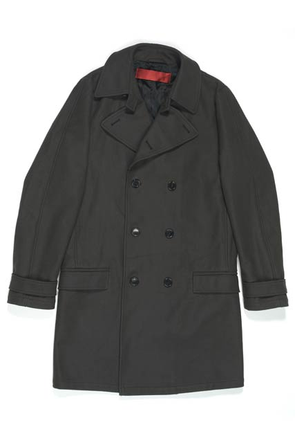 紳士 コート袖擦り切れ直し(毛抜き合わせ)の商品画像
