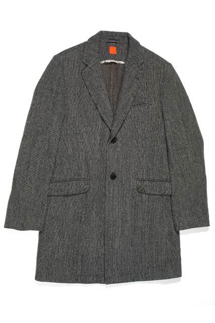 紳士 コート肩から袖丈詰め