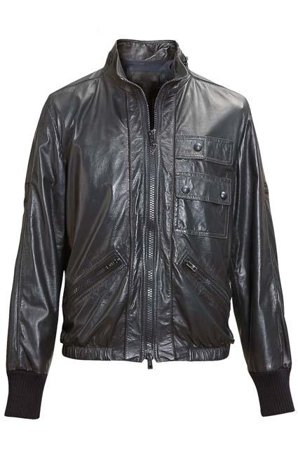 紳士/婦人レザージャケット/ブルゾン袖丈詰め(肩から袖丈詰め)《往復送料無料♪》