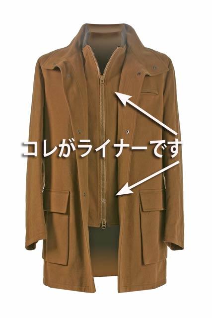 紳士 コート着丈(ベンツなし)の紹介画像3