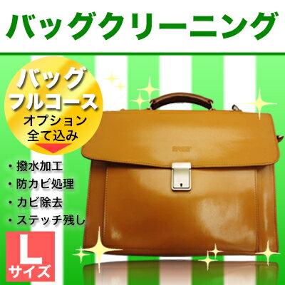 バッグ クリーニング【フルコース】Lサイズ(〜50cm)
