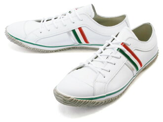 スピングルムーブ SPINGLE MOVE SPM-168 White/Green スピングルムーブ sneakers spingle move SPM168 white / green leather sneakers SPINGLEMOVE