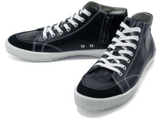 スピングルムーブ SPINGLE MOVE SPM-356 BLACK スピングルムーブ SPM356 black leather sneakers SPINGLE MOVE spingle move