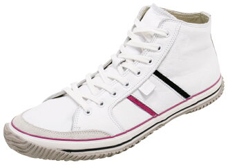 SPINGLE MOVE spingarmove SPM-421 WHITE/WHITE spingarmove SPM421 white / white leather sneakers