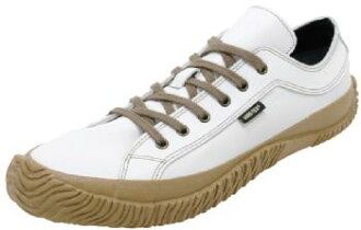 スピングルムーブ SPINGLE MOVE SPM-605 White/Brown sneakers SPM605 white / brown SPINGLE MOVE