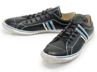 スピングルムーブ SPINGLE MOVE SPM-168 BLACK スピングルムーブ SPM168 black leather sneakers SPINGLE MOVE spingle move