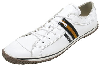 スピングルムーブ SPINGLE MOVE SPM-168 White/Black スピングルムーブ sneakers spingle move SPM168 white / black leather sneakers SPINGLEMOVE