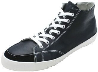 スピングルムーブ SPINGLE MOVE SPM-356 BLACK スピングルムーブ SPM356 black leather sneakers SPINGLE MOVE spingle move