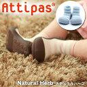 【送料無料】【あす楽】【プレゼント付!】Attipasアティパス/ファーストシューズ/ベビーシューズ[Natural Herbナチュラルハーブ]4サイズ(2柄)