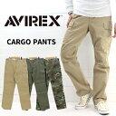 ≪送料無料≫AVIREX アビレックス BASIC CARGO PANTS ベーシック カーゴパンツ 6166110/6166111