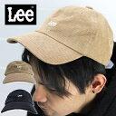 ショッピングキャップ ≪SALE≫Lee LOGO CAP LA0388 / リー ロゴ 刺繍 キャップ LA0388
