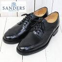 【最大15 OFFクーポン配布中】SANDERS (サンダース)『Military Derby Shoe』(Black)【正規取扱店】【smtb-KD】【sm15-17】【楽ギフ_包装】【ダービーシューズ】