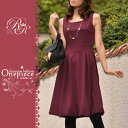 [the 20%off ☆ SALE 】★ Reggina re-thread 【 feminine balloon one piece / middle length ver. 】☆ 2012 model ☆ Rakuten ranking ☆ dress first place in the fall and winter!] ☆Lady's [will take its ease tomorrow] [easy ギフ _ packing] [comfortable ギフ _ Messe]