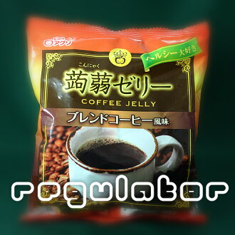 *12 bag of ※ extreme popularity with konjac jelly blended coffee flavor 12! Konjac jelly bulk buying