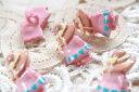 [1個]【ドイツ輸入ボタン】ヨーロッパ手芸雑貨ファッションボタン(女の子)プラボタンキッズボタン子供用ボタンファンシーボタンソー..
