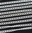 業務用チェーン10m【アクセサリーパーツ】シルバーカラー細 超ロングサイズ(お好きな長さに加工して使うタイプ)メタルネックレス用チェーン(オリジナルクラフトに)