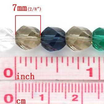 ガラスビーズ140個入手芸ビーズガラス玉◆業務...の紹介画像3