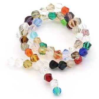 ガラスビーズ140個入手芸ビーズガラス玉◆業務パ...の商品画像