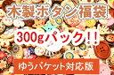 木製ボタン福袋【改リニューアル版】【おまかせ300gパック】プリントボタンを中心にウッドボタンが満載