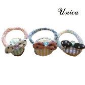 UNICA(ユニカ) リボン ヘアゴム おしゃれ キッズ 女の子 かわいい 子供服