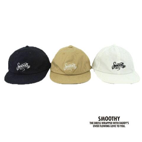 【SALE 20%OFF】SMOOTHY (スムージー) ローキャップ CAP (53-57) キャップ 帽子 おしゃれ キッズ 男の子 かわいい 子供服