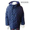 【SALE 20%OFF】SOLBOIS(ソルボワ) タフタキルト ジャケット (90-120) 子供服 アウター 男の子 女の子 おしゃれ