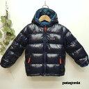 PATAGONIA(パタゴニア)BABY Hi-Loft Down Sweater Hoody (90-115) キッズ アウター ダウンジャケット 男の子 女の子 おしゃれ