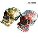 【SALE 50%OFF】DENIM DUNGAREE ( デニム&ダンガリー) パイル リメイク ワーク CAP (50-56) 帽子 おしゃれ キッズ 男の子 女の子 かわいい 子供服