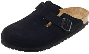 Birkenstock Boston ○ BOSTON BIRKENSTOCK Boston suede leather / black 060491 / 060493