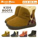 キッズ ムートン ブーツ North Date ノースデイト MEG 1350 トグルボタン付きムートンブーツ キッズ ムートンブーツ kids boots 男の子 女の子