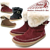 インディアンブーツ レディース ボア付きショートブーツ Indian [ID-1287] インディアンモトサイクル スニーカー boots【NJNJ-08jjpd】●