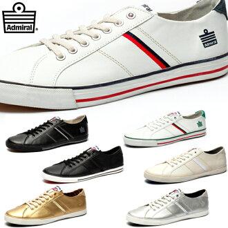 애드 미 럴 왓 스 니 커 즈 맨 즈 레이디스 Admiral Watford SJAD0705 어 드 미 랄로 가기 men 's ladies sneaker ●