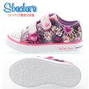 スケッチャーズ ベビー キッズ スニーカー ライトアップ機能搭載 10608N 光る靴 SKECHERS Twinkle Toes Twinkle Breeze-Pop-Tastic 女の子