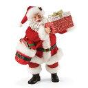 【送料無料】Possible Dreams What's In The Box? 【Department56】クリスマス Christmas Xmas サンタ サンタクロース フィギュア 置物 オブジェ 人形 プレゼント ギフト インテリア 装飾 飾り 配達Enesco社認定 日本正規総代理店